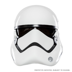 Star Wars Episode VII The Force Awakens First Order Stormtrooper Helmet - Toy Wars - Anovos - 1