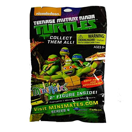 Teenage Mutant Ninja Turtles Minimates Series 4 Mystery Pack