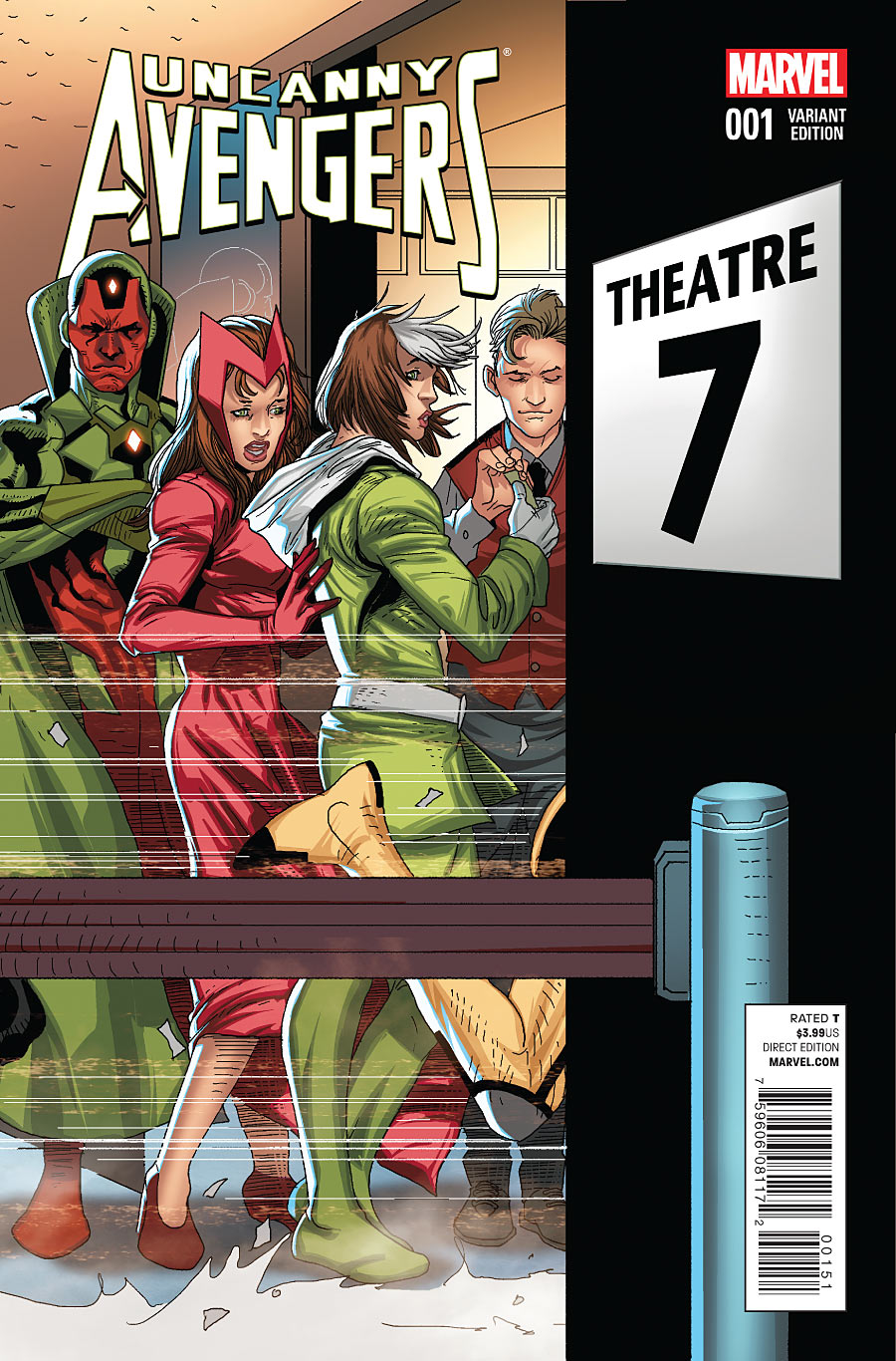 Uncanny Avengers #1 Welcome Home Variant Comic Book