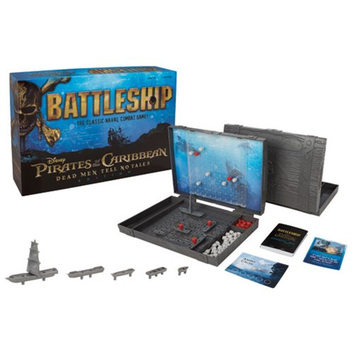 Pirates of the Caribbean: Dead Men Tell No Tales Battleship Game