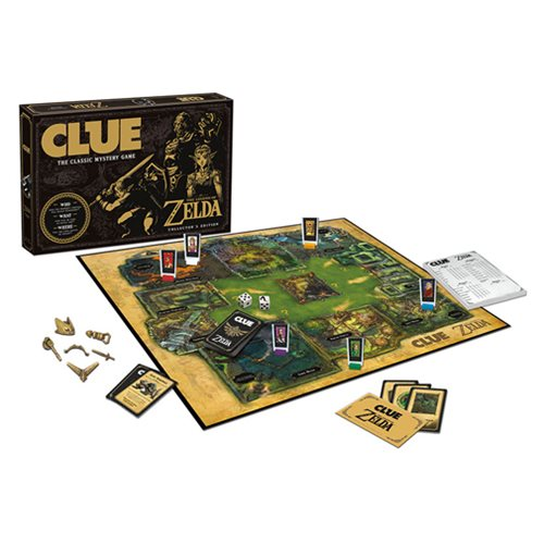 The Legend of Zelda Clue Game