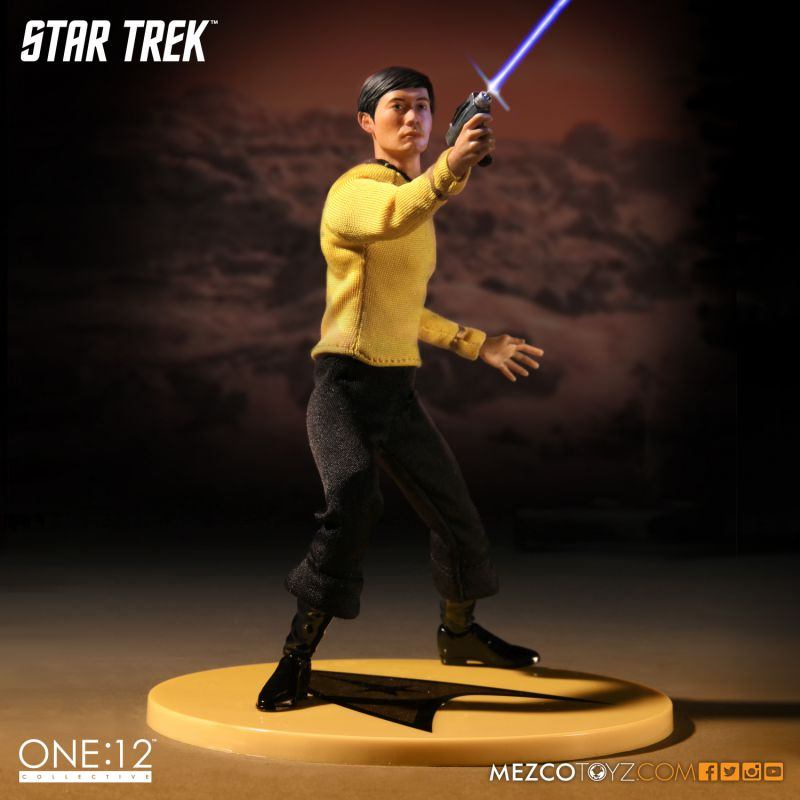 Star Trek Sulu One:12 Collective Action Figure