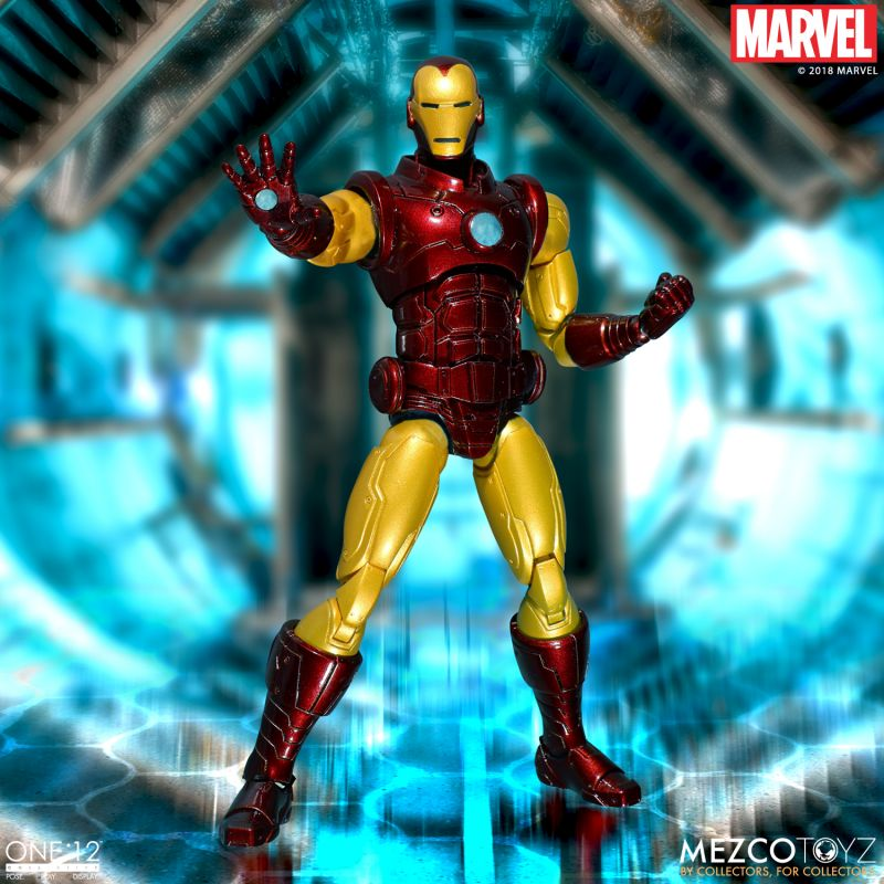 Preorder September 2018 Iron Man One:12 Collective Action Figure