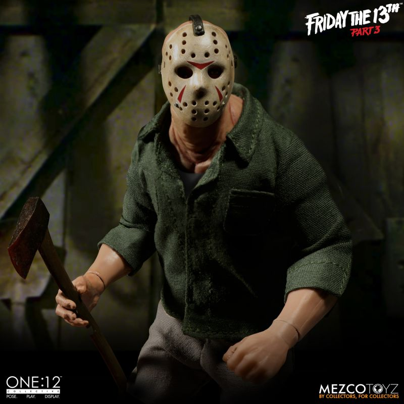 Preorder December 2018 Jason Voorhees from Friday The 13th Part 3 One:12 Collective Action Figure