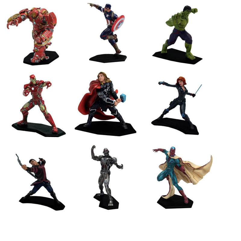 The Avengers: Age of Ultron Metal Miniature Mini-Figures Set of 9