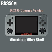 Load image into Gallery viewer, Upgraded Metal Case Retro Game RG350M Game Console + 32GB + Case - Games Arcadia