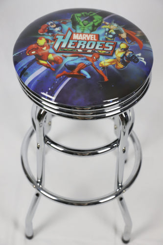 Marvel Heroes Arcade Bar Stool 78cm with Swivel - Games Arcadia