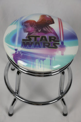 Star Wars Arcade Coffee Table Bar Stool 55cm with Swivel - Games Arcadia