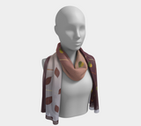 Autumn Leaves - Mila Lansdowne Designer Scarf