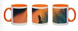 Image of a 11oz mug featuring photography by Mila Lansdowne from the Designer Collection Aurora Borealis