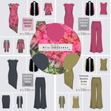 Image of Mila Lansdowne 4-piece Design Concept collection Romantic Garden