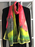 Image of Mila Lansdowne designer scarf Collection Aurora Borealis