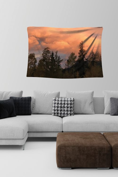 Morning Sky - Wall Tapestry (57