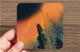Image of a coaster featuring photography by Mila Lansdowne from the Designer Collection Aurora Borealis