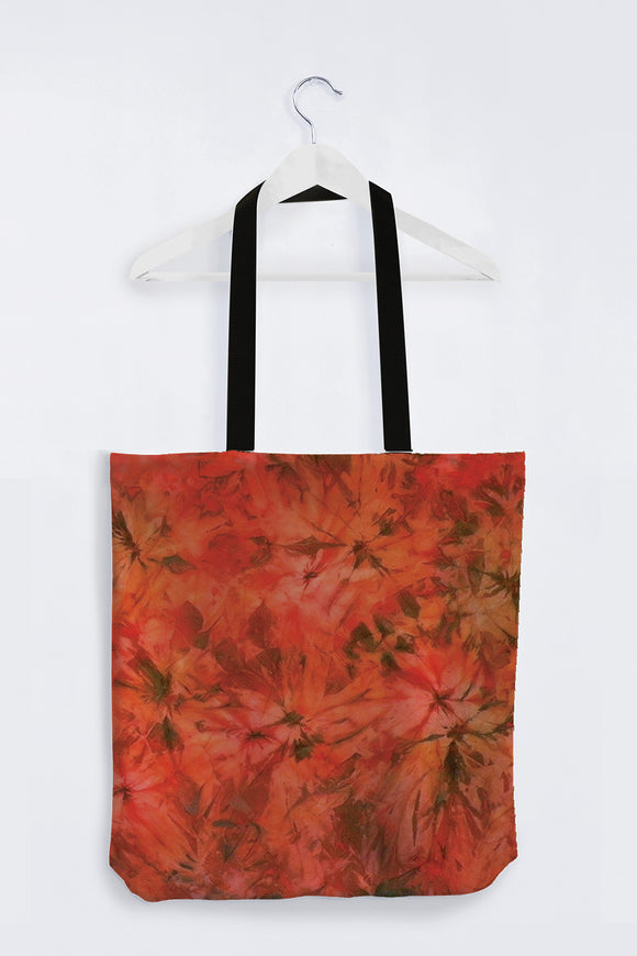Image of Mila Lansdowne Designer Tote Bag from the collection Garden of Passion.