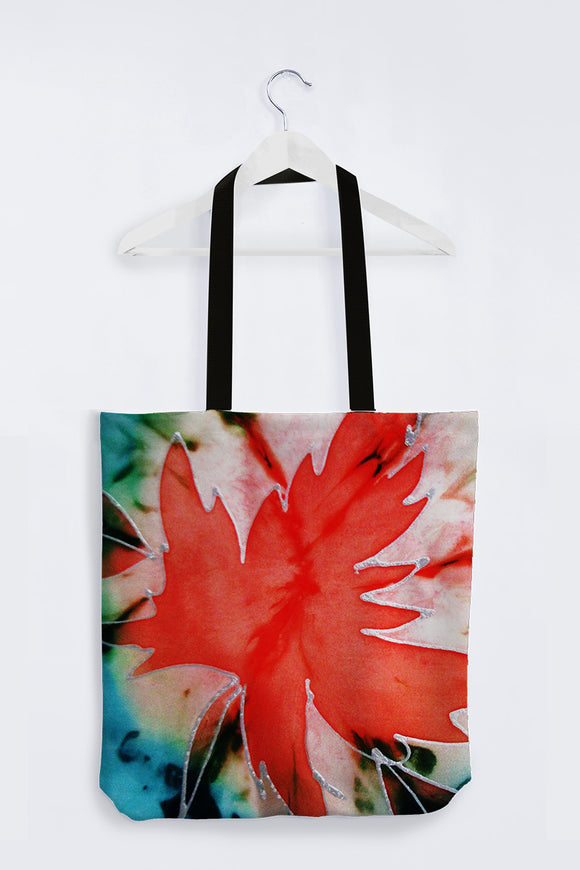 Image of Mila Lansdowne Designer Tote Bag from the collection Maple Leaf Power .