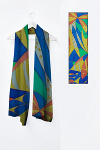 Image of Mila Lansdowne designer scarf from the collection