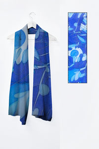 Image of Mila Lansdowne designer scarf from the designer collection Inner Peace.