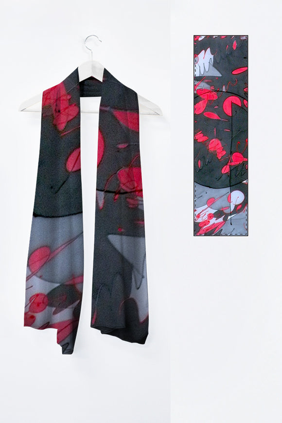 Image of Mila Lansdowne's Designer scarf from the designer collection Power Within.