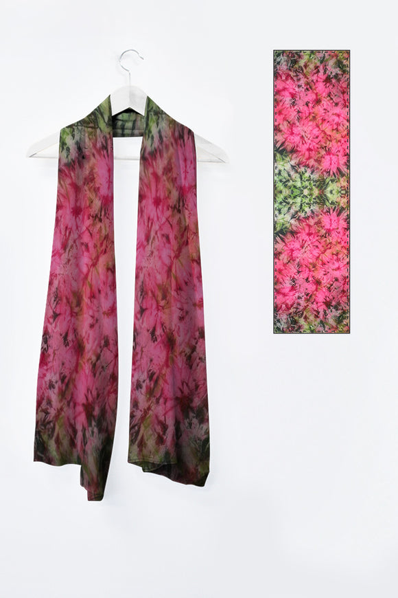 Image of Mila Lansdowne designer scarf from the designer collection Romantic Garden.