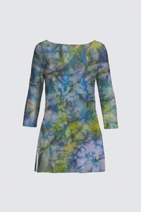 image of Mila Lansdowne Design Boatneck Tunic from the collection tranquil Garden.