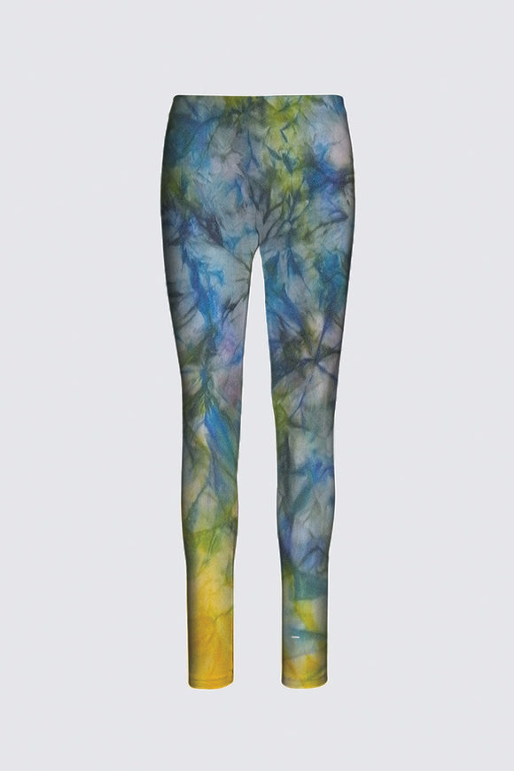 Image of legging from MILA Lansdowne Designer collection Tranquil Garden.