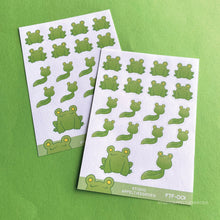 Load image into Gallery viewer, Planner stickers | Floris the Frog FTF-001