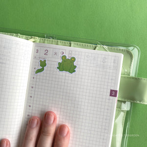 Planner stickers | Floris the Frog FTF-001