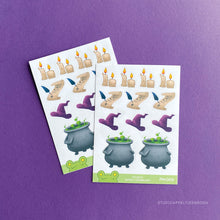Load image into Gallery viewer, Planner stickers | Witch vibes FM-004
