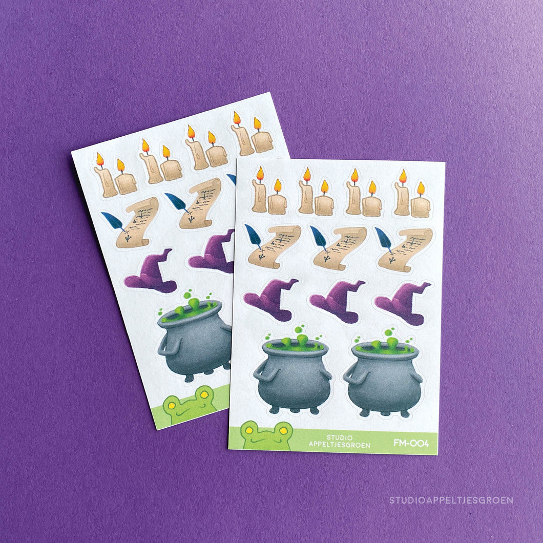 Planner stickers | Witch vibes FM-004