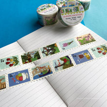 Load image into Gallery viewer, Floris the Frog | European Vacation, washi tape