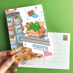 Frog Mail | August 2020 Postcard