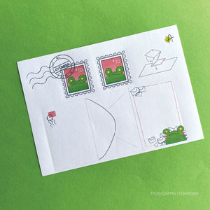 Frog Mail | August 2020 Stickersheet