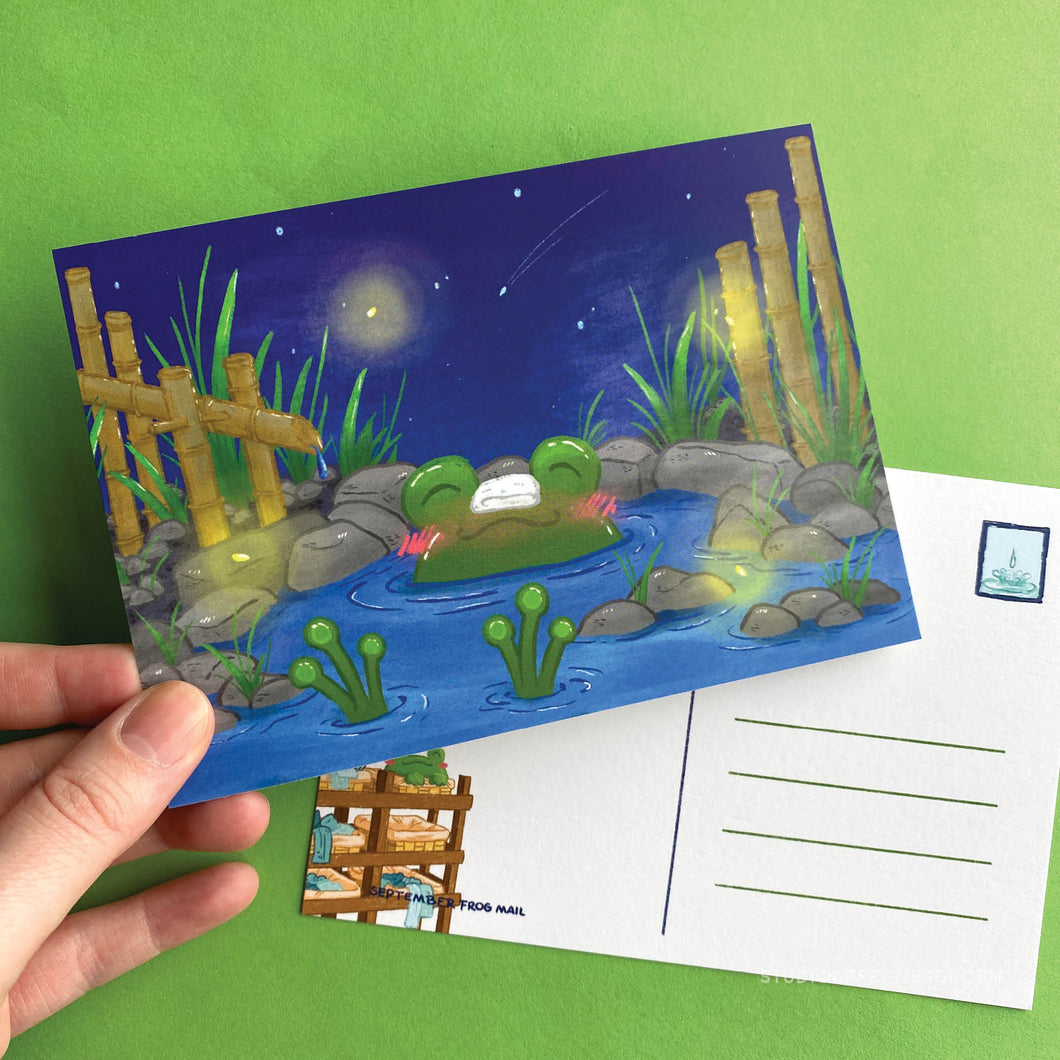 Frog Mail | September 2020 Postcard