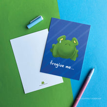 Load image into Gallery viewer, Greeting card | Frogive me