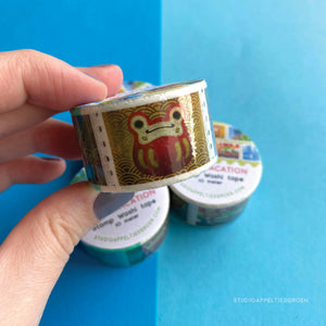 Floris the Frog | Japan Vacation, washi tape