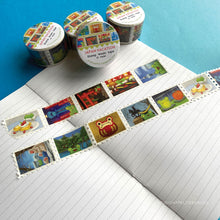 Load image into Gallery viewer, Floris the Frog | Japan Vacation, washi tape