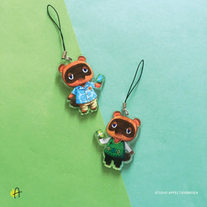 ACNH | Tom Nook charm