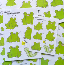 Load image into Gallery viewer, Floris the Frog | Sticker sheet