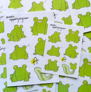 Floris the Frog | Sticker sheet