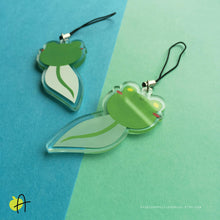 Load image into Gallery viewer, Floris the Frog | Tadpole charm