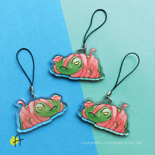 Load image into Gallery viewer, Floris the Frog | Wrapped charm