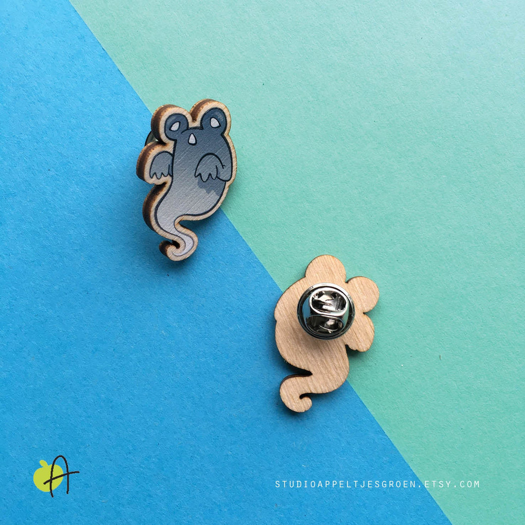 Floris the Frog | Ghost pin