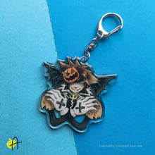 Load image into Gallery viewer, KH | Halloween Town Sora charm