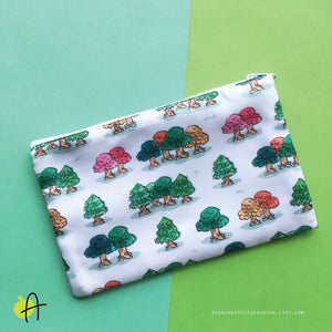 ACNH | Little Trees pouch