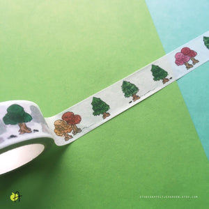 ACNH | Little Trees, washi tape