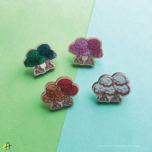 ACNH | Seasonal Trees wood pin