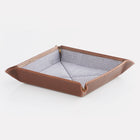 Brown Brooklyn Leather Travel Tray