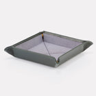 Green Bridle Leather Travel Tray