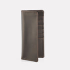 Dark Brown Brooklyn Leather Slim Wallet